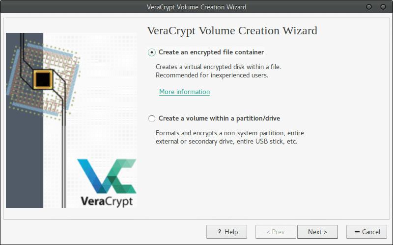 VeraCrypt Screen1