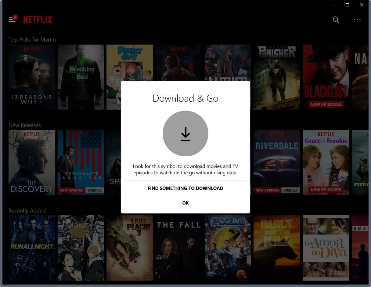 download netflix windows 10