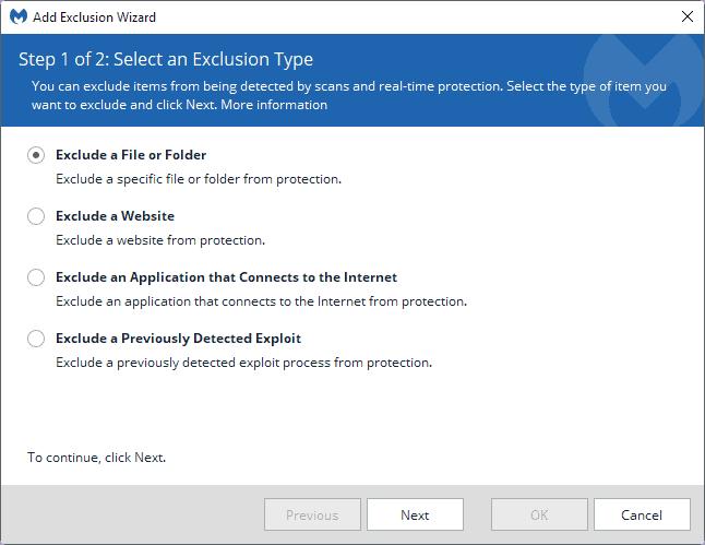exclude file folder
