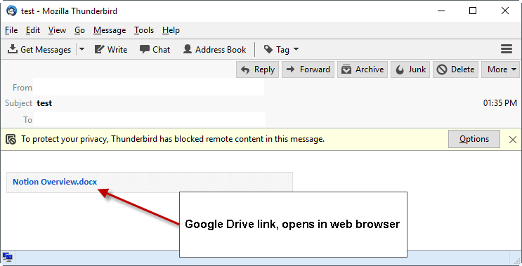 google-drive-attachment What to do if Gmail attachments are not downloaded correctly