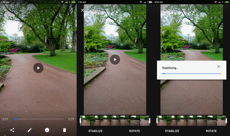 How to stabilize your videos with Google Photos