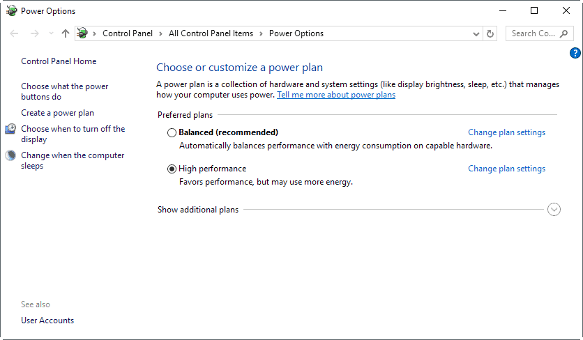 high-performance How to manage Power Throttling in Windows 10 (Redstone 3)