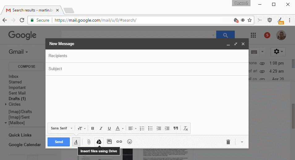 insert-files-using-google-drive What to do if Gmail attachments are not downloaded correctly