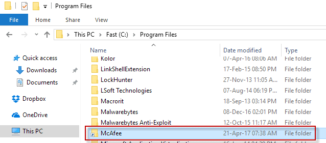 moved-program-folder Move Program Folders in Windows without affecting functionality