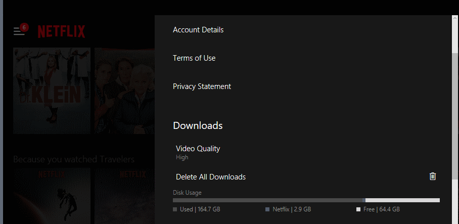 netflix downloads quality