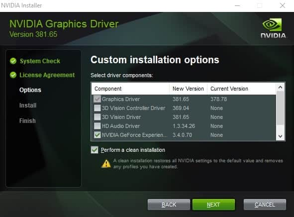 nvidia driver 381.65