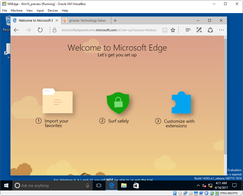 How to install Microsoft Edge on Windows 7