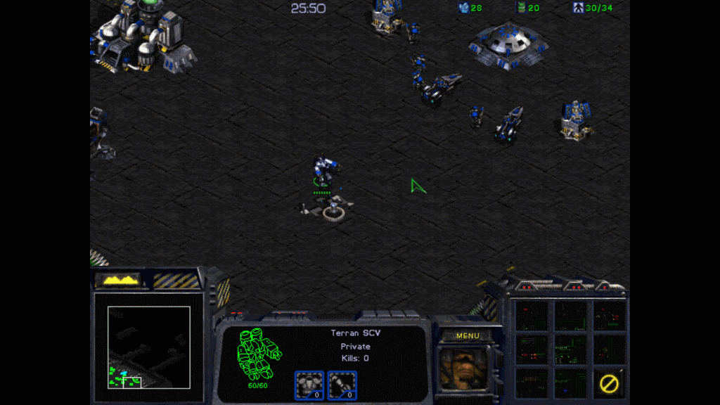 Play Classic StarCraft and Brood War expansion for free