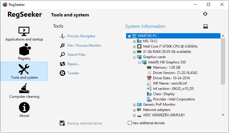 tools system