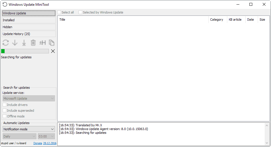 windows update mini tool