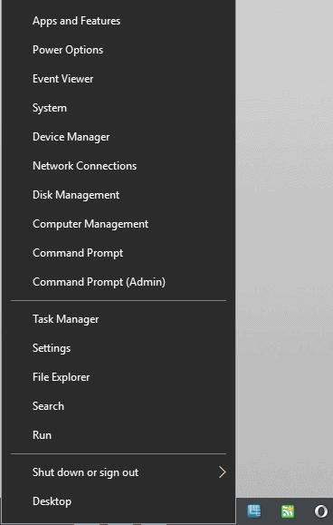 windows-x control panel