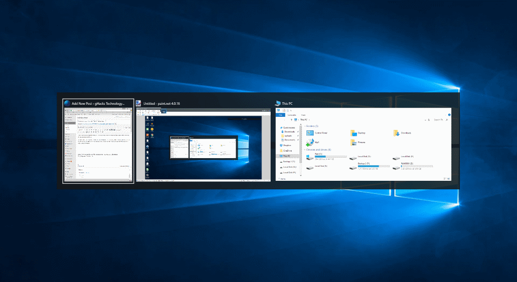 How to customize Alt-Tab in Windows 10