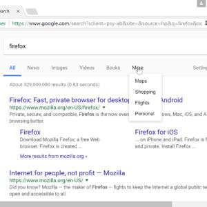 google personal search