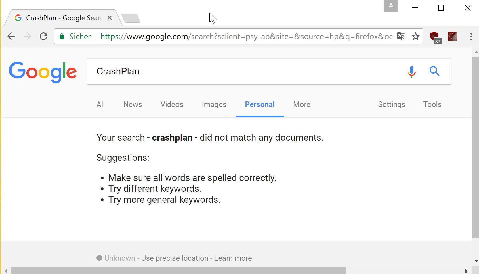 Google Personal