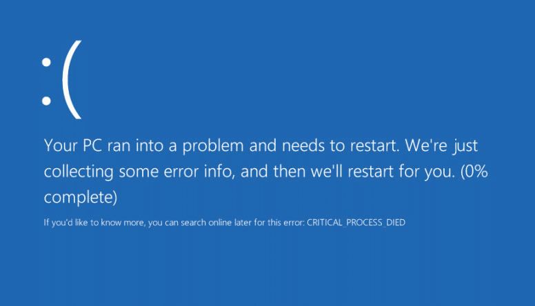 Fix Critical Process Died in Windows 10 Error - gHacks Tech News