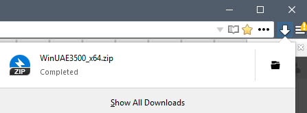 firefox lack download information