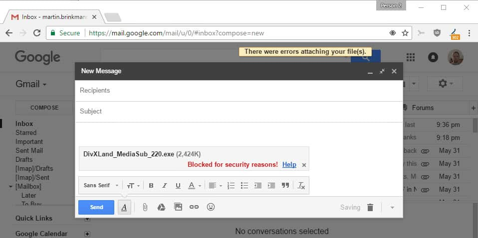 Google launches new Gmail security features