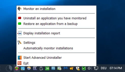monitor-an-installation Advanced Uninstaller Pro review