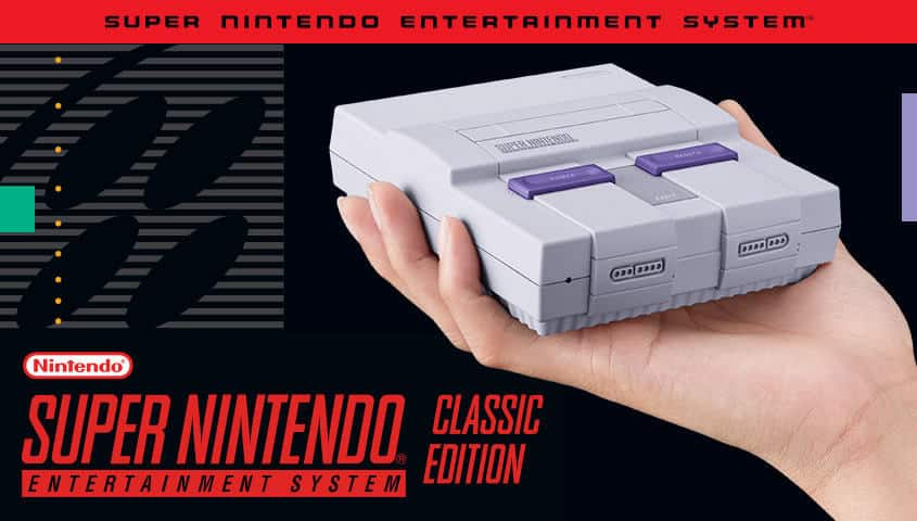 super nintendo entertainment system snes classic edition