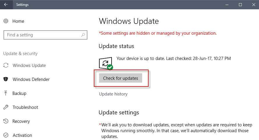 windows update staged rollouts