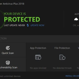 bitdefender 2018 interface