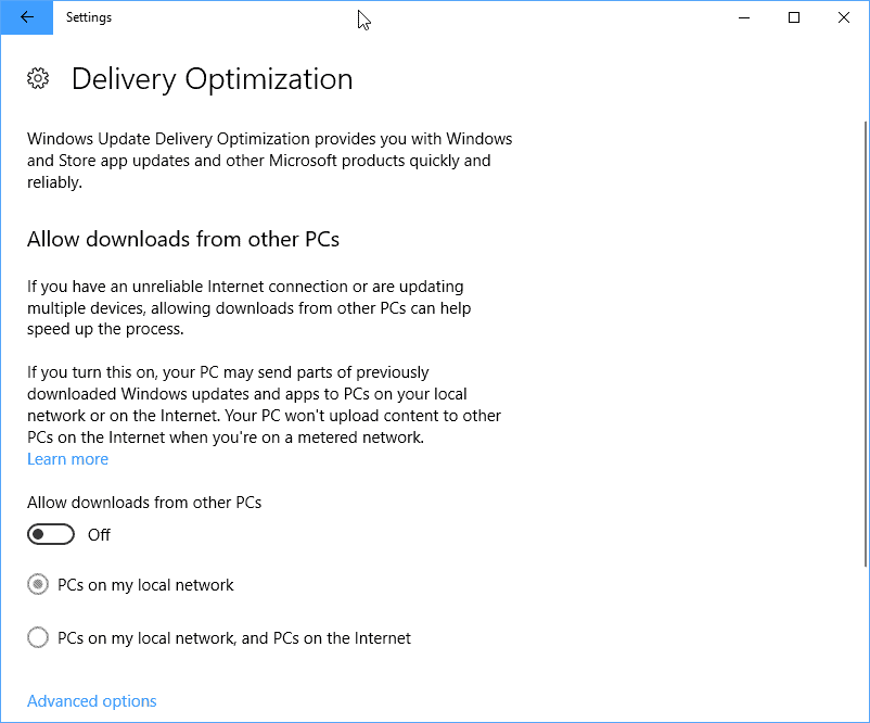 delivery optimization