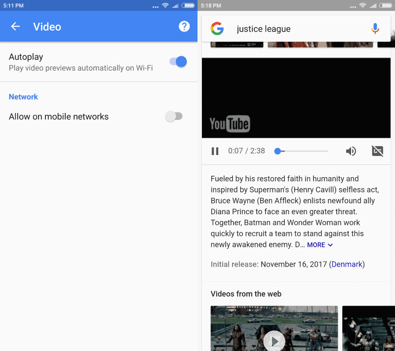 google app autoplay