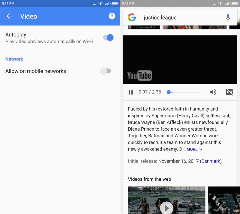 google app autoplay