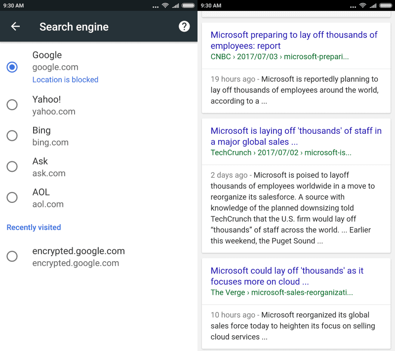 google search without amp