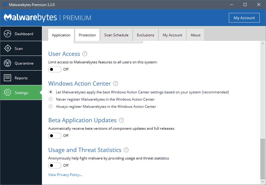 malwarebytes-3.2-beta Malwarebytes 3.2 promises better memory usage and stability