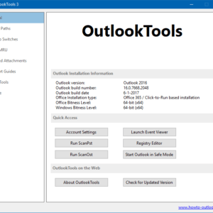 outlook tools 3