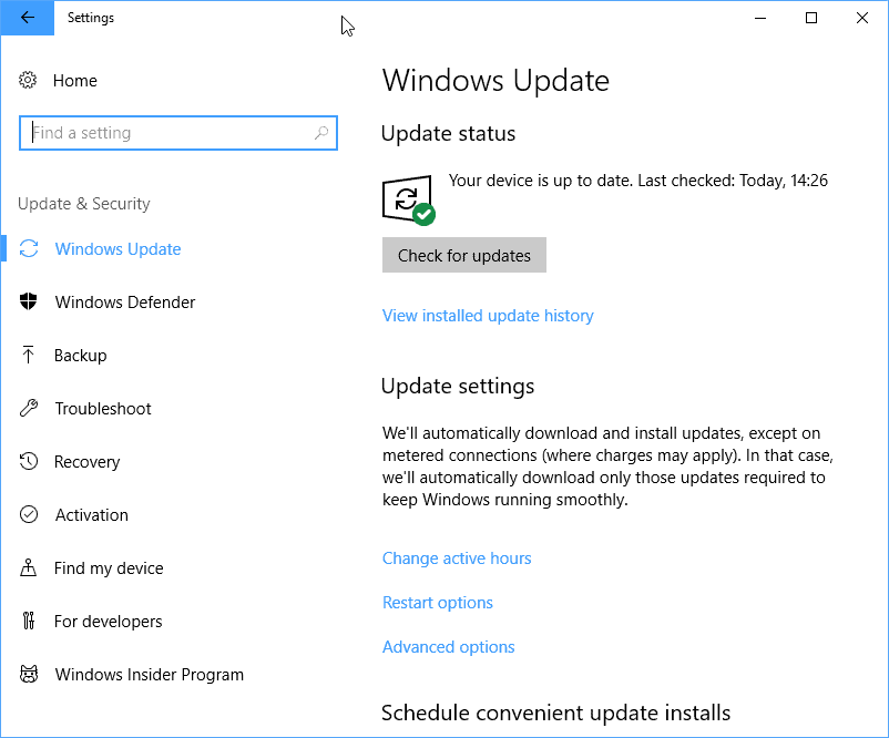 Windows 10: less downtime during feature upgrades