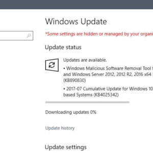 windows updates july 2017