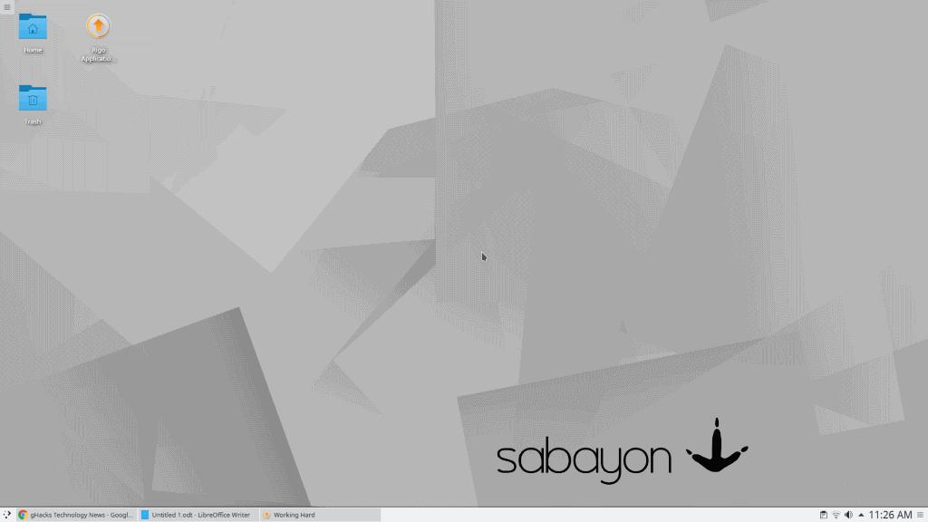 Sabayon Desktop