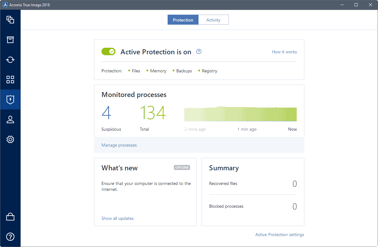 active protection acronis backup 2018