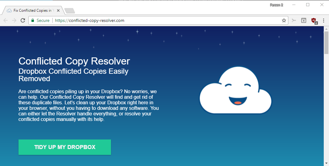 dropbox conflicted copy resolver
