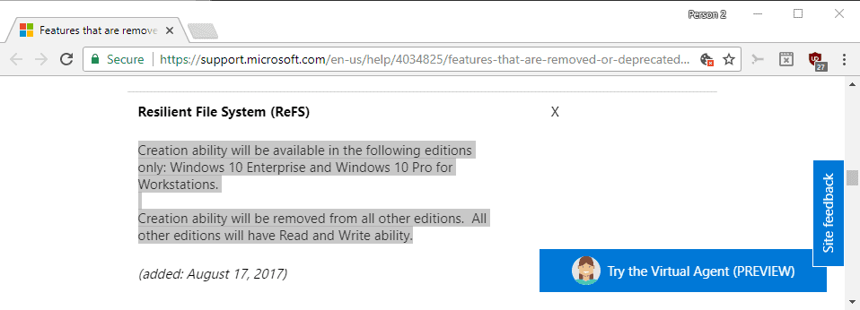 refs removal fall creators update