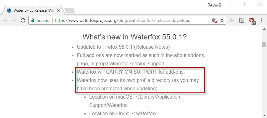 waterfox 55 legacy addons