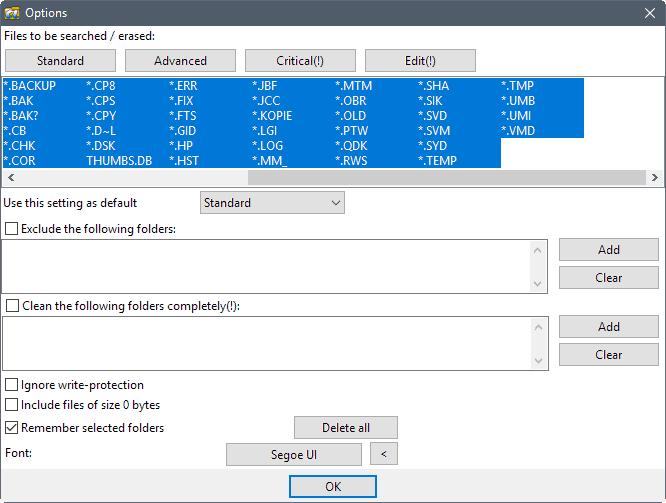 options alternate directory