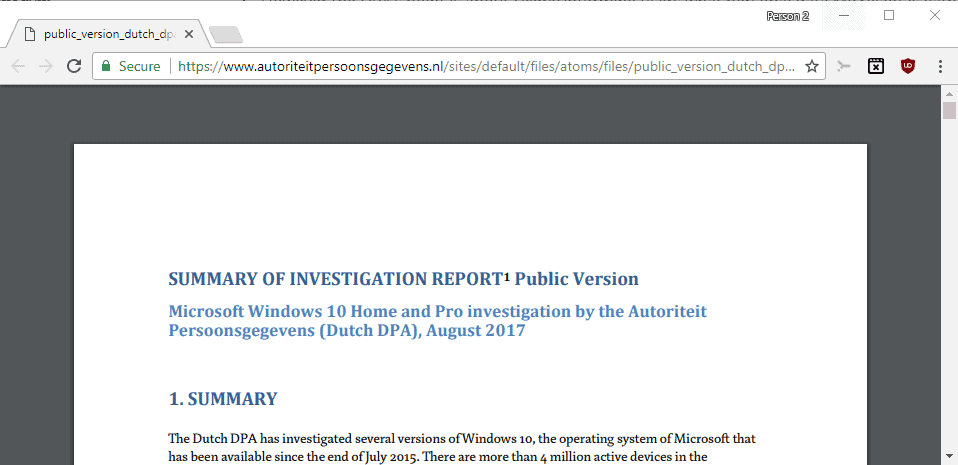 Microsoft butts heads with Dutch DPA over Windows 10 Privacy