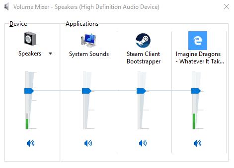 edge sound control mixer
