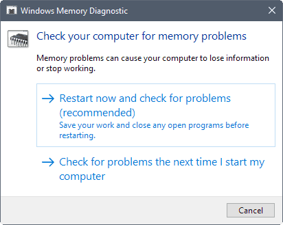 How to fix Memory Management Bluescreens on Windows 10 - gHacks Tech