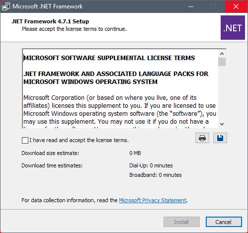 .net framework offline installer 4.5.2