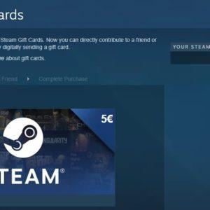 steam digital gift card