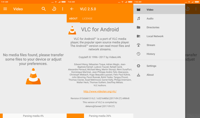 vlc 2.5 for android