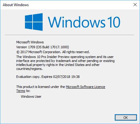 My personal take on the Windows 10 Fall Creators Update