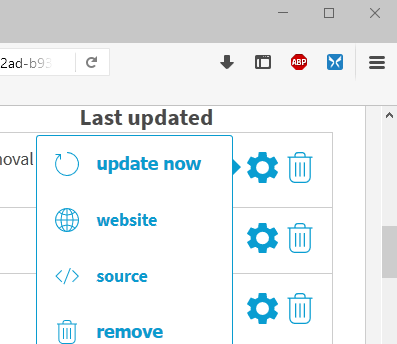 adblock plus sources