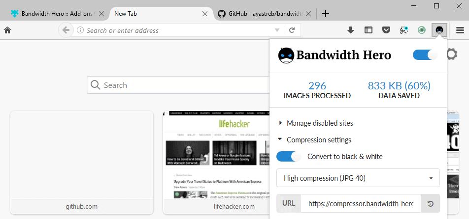 bandwidth hero