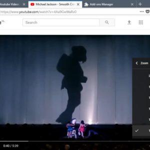 firefox youtube zoom