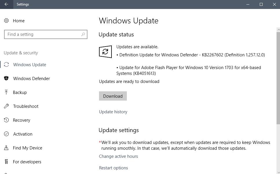 kb4051613 flash player update